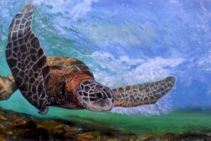 Linda Bassford 29x40 Under the Sea