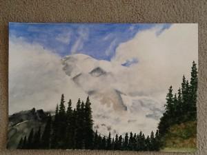 Ruth Westrate Mount Rainier
