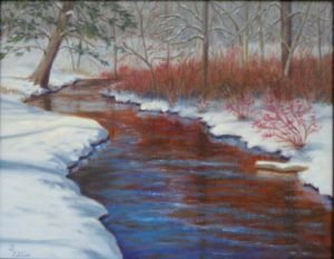 Susan Ellis Rogue River in winter small