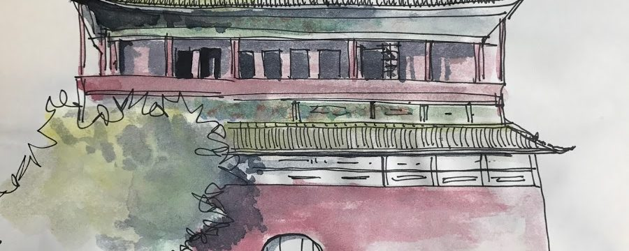 January Meeting / Urban Sketchers