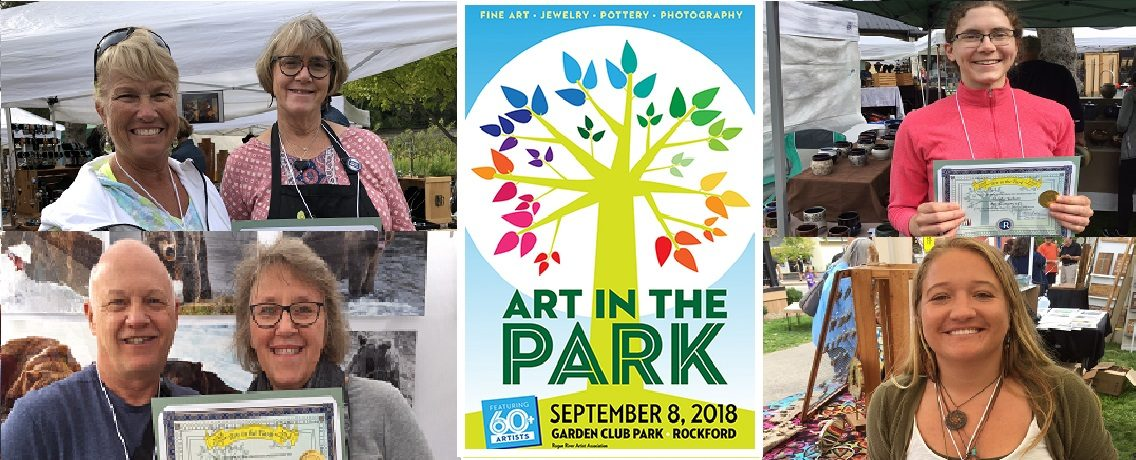 Art in the Park 2018 Best of Award Winners