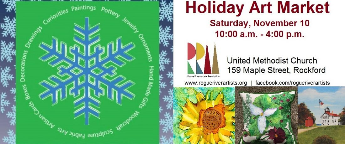 Holiday Art Market – November 10, 2018