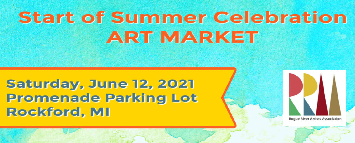 Pop-up Art Market at Rockford's Start of Summer Celebration