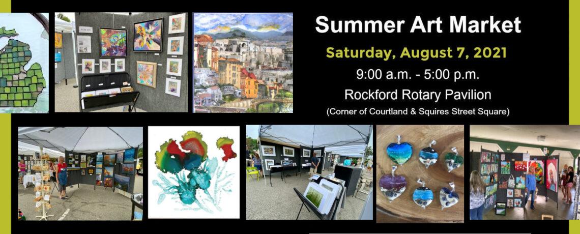 Summer Art Market on August 7, 2021